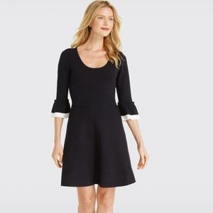 NWT Draper James Flutter Sleeve Sweater Dress